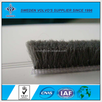 Hot Sale silicone Wool pile weather strip for window & Door in china