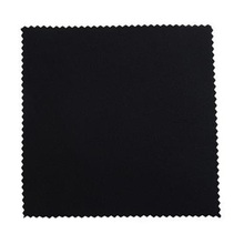 Black Microfiber Glasses Cloth