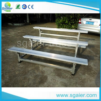 Movable theater seating aluminum portable theater seating