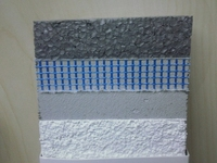 building exterior thermal insulation material