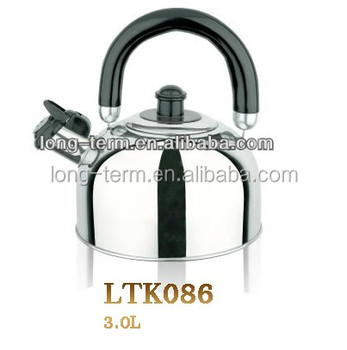 LTK086 Newest kettle stainless steel painted