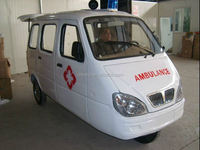 175CC cheap three wheel ambulance manufacturer motorcycle ambulance tricycle factory hyundai h1 ambulance` with CCC