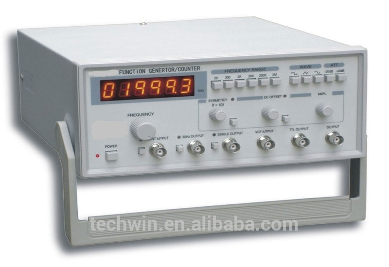 Techwin Electronic Measuring Instruments Frequency Function Generator with Calibration
