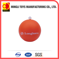 New cheap sports toy orange stress ball