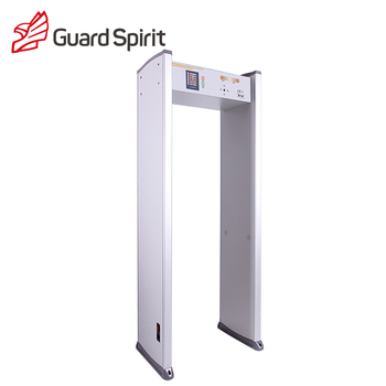 Cost-effective 6 Zones Door Frame Metal Detector/Security Metal Detector Walk Through Gate/Archway Metal Detector, cheap price