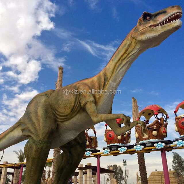 Outdoor playground Theme Park Equipment Artificial Dinosaur for Sale