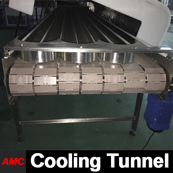 Specifically Designs Quick Changeover evaporated milk Cooling Tunnel Machine For Production Line
