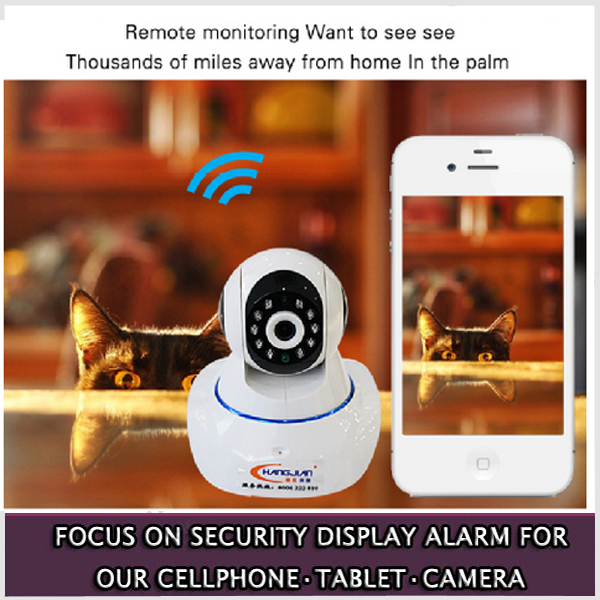 High quality wireless network wifi 1080p security camera outdoor