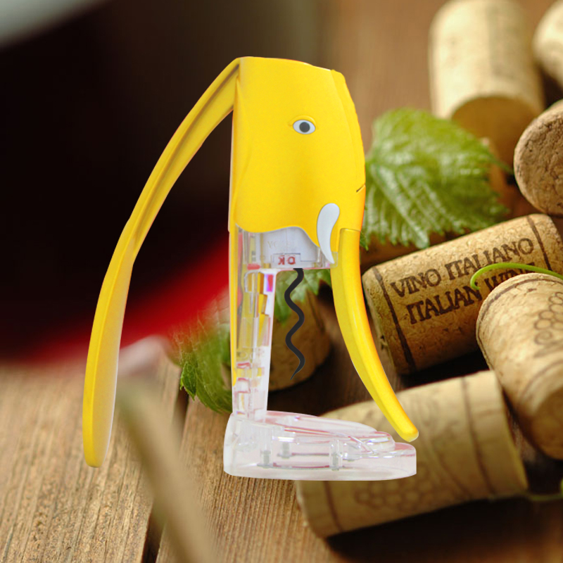 Best selling wine bottle cork remover stand opener wine wine bottle accessories with foil cutter