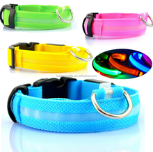 Standard Size Free Sample Pet For Dogs Purple Led Collar