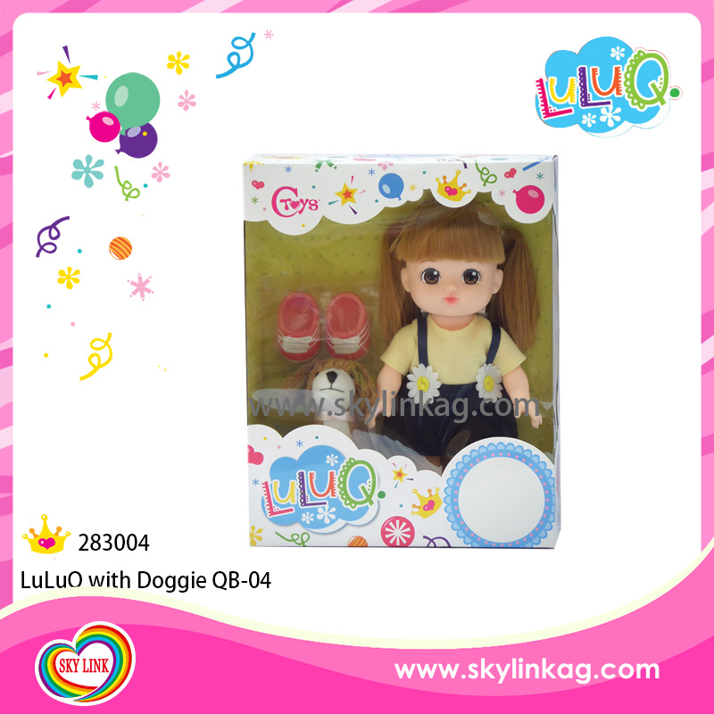 Special Order Pretty kids doll with little doggie