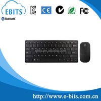 Chocolate style wireless keyboard and mouse combo 2.4G for desktop, laptop and tablets