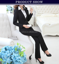 2015 new design ladies suit latest office uniform design for women sexy uniform & suits for girls