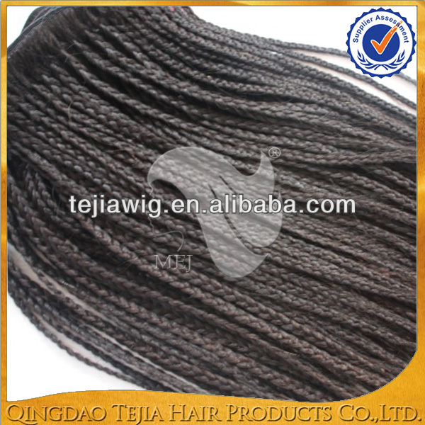 2014 Hot Selling Virgin Micro 100% Human Hair Braiding Hair Weft