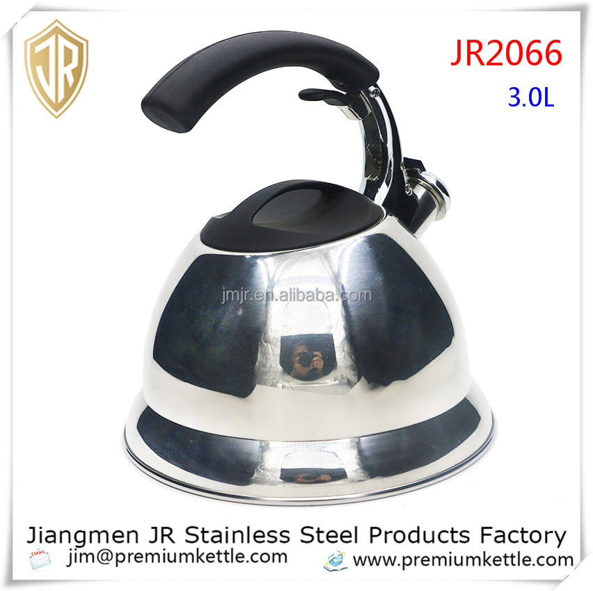 Popular kitchen cookware / stainless steel whistling kettle