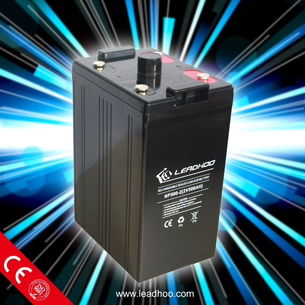 price of 2v 500ah solar battery 2 volt lead acid battery