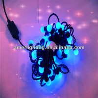 wholesale outdoor holiday lighting 5m LED string with 50leds bulb 3W 110v-240v