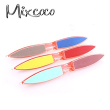 2016 cheapest high quality nail file, nail tools plastic nail file case wholesale