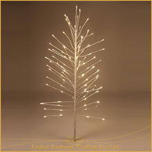 Christmas Decoration Battery Powered Bright White Led Tree