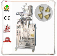 Automatic triangle bag honey/tomato sauce packing machine