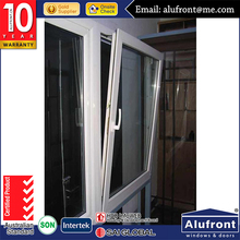 New Style Aluminium Tilt&Turn Window with Top Grade Material Wood Grain Finish Timber Look