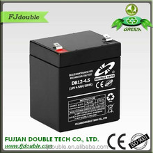 12v 4.5ah Rechargeable lead acid battery dry cell battery ups