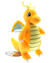 "New Pokemon Dragonite 9"" Stuffed Animal Nintendo Cartoon Plush Toy cute Dragon N"