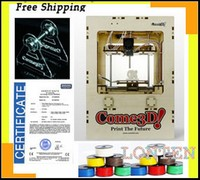 Free shipping 3D Printer single head 2kg ABS material free one filament Replicator ABS printer machine