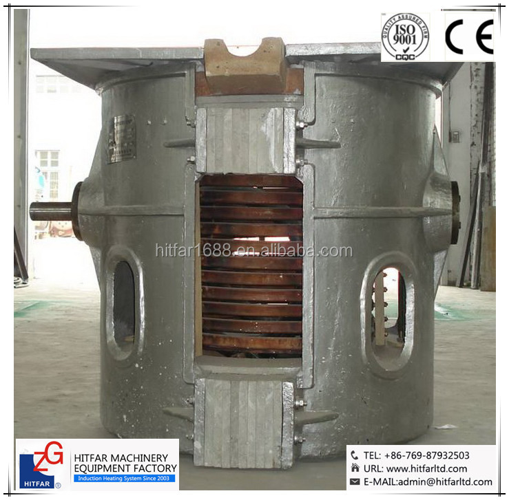 Best Sale! Low Price! 500KG Induction Furnace for Melting Steel <strong>Scrap</strong> & Cast Iron