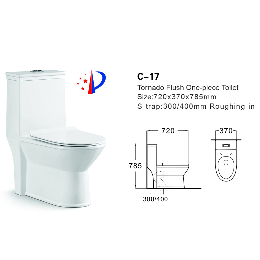china wc toilet size/ chinese one piece toilet/ color ceramic toilet