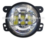 Round 4 inch led fog headlight replacement fog lamp for jeep wrangler car accessories