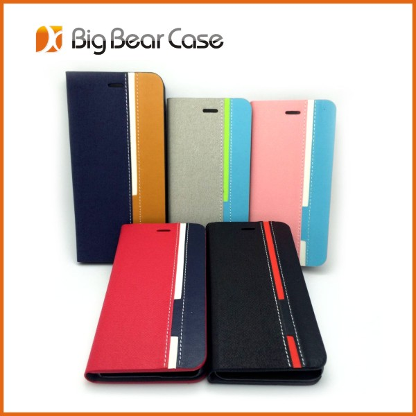 Durable Phone accessories Flip Leather case for iphone 6