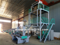 2 Layer Co-extruder Blown Film Machinery,Film Blowing Extruder,Film Extrusion Line