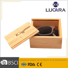 Hot sale new bamboo case and wooden box for sunglasses