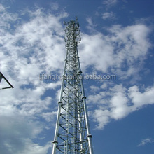 Galvanized Self Supporting Radio Lattice 3 Legged Tower