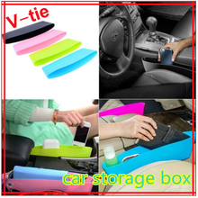 New Car Auto Accessories Seat Seam Storage Box Bag Phone Holder Organizer