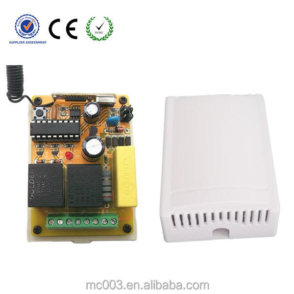 mc 401PC-220v RF 2 CH relay switch 220V