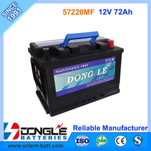 Reliable Manufacturer Supply 12V 72Ah Car Battery King of Power
