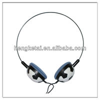 Attractive football mini head phones for children