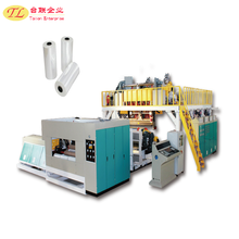 High frequency cast stretch film wrapping plastic product making machinery price