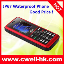 IP67 Waterproof Mobile Phone Dual SIM AGM Stone 2 Best Price for Rugged Feature Phone
