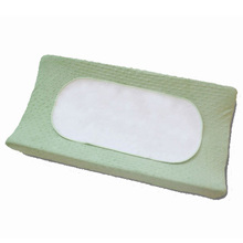 Waterproof printed baby changing mat pad/contoured changing pad