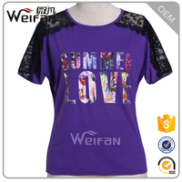 China Suppliers Wholesale Women Fashion Custom Printed Tshirts