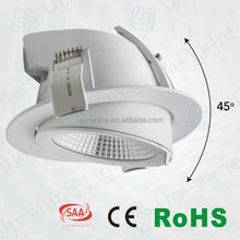 high effiency 0-10V Dali dimmable 35W 2800lm 45 vertical rotatable LM80 test ceiling fan with lights