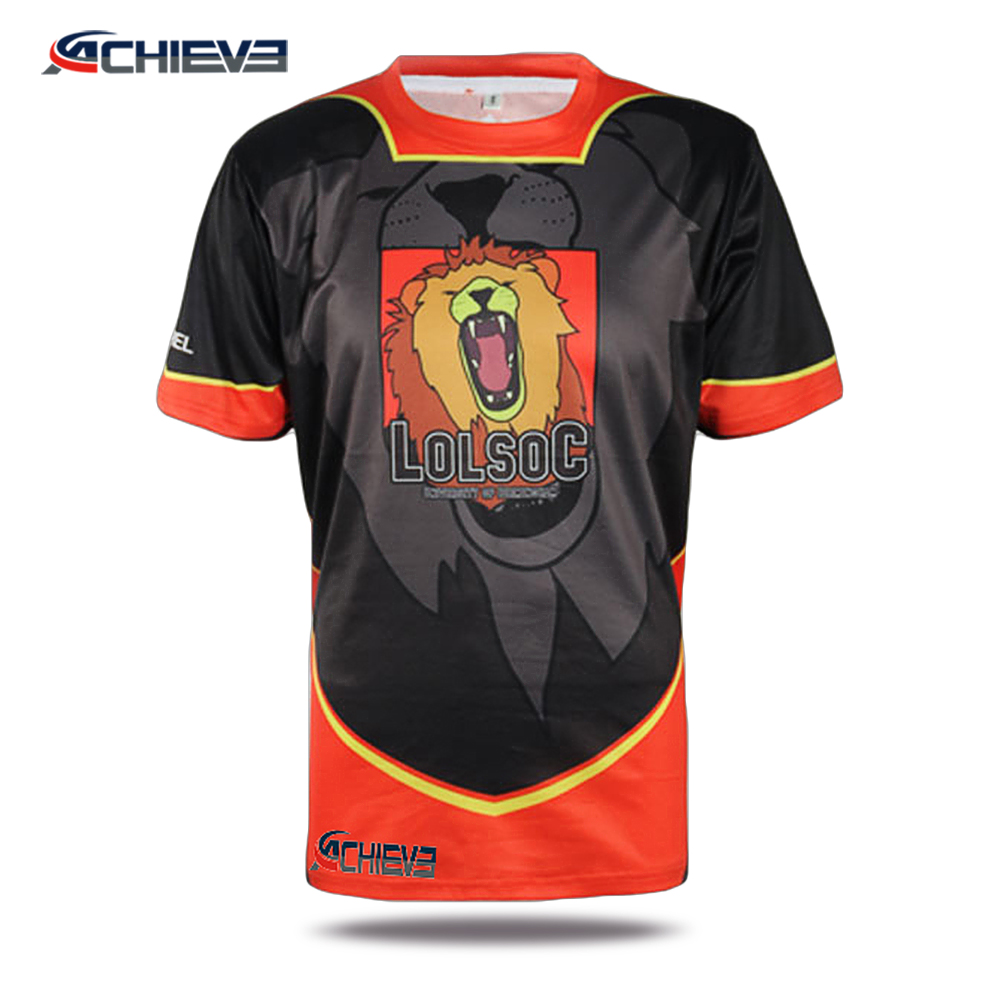 oem design clothing direct factory in china cool football wear tee