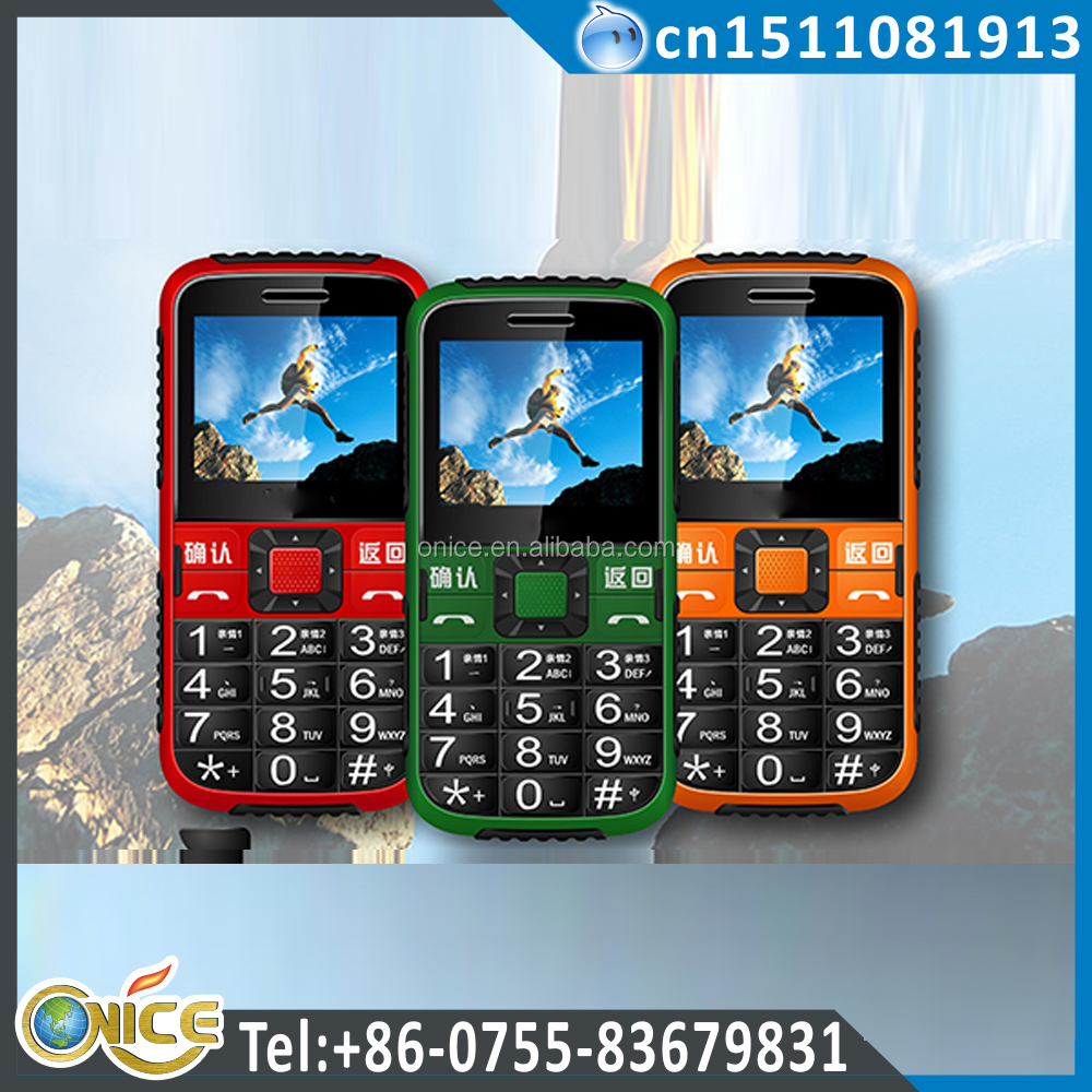 C8 cell phone for old man phone with vibration gsm 900/1800mhz GPS bluetooth fm recording cell phones