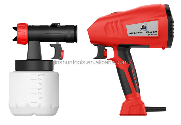 JS-HH15A 400W Professional factory air powder coating spray gun for sale