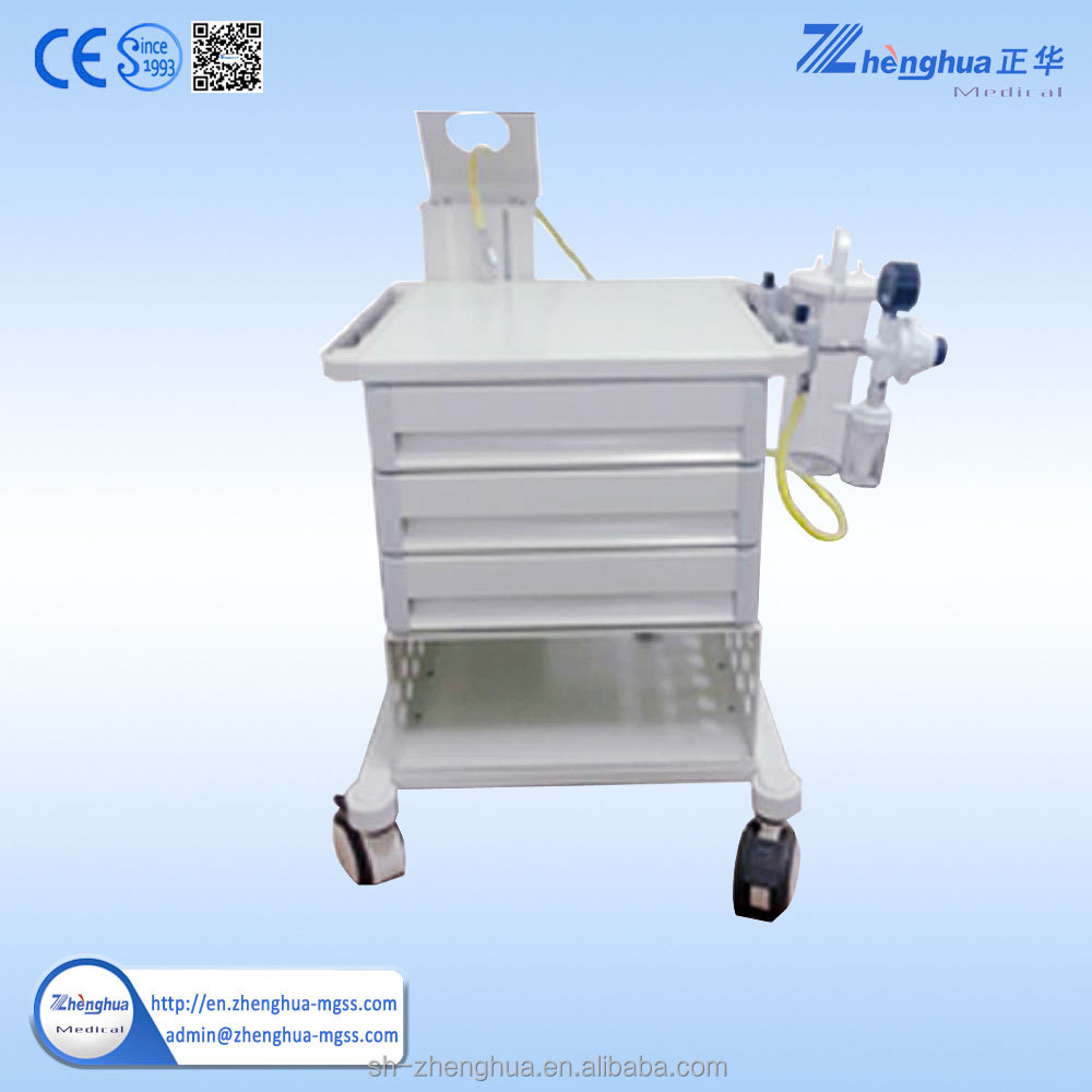 hospital drug dispensary trolley stainless steel cart for hospital use