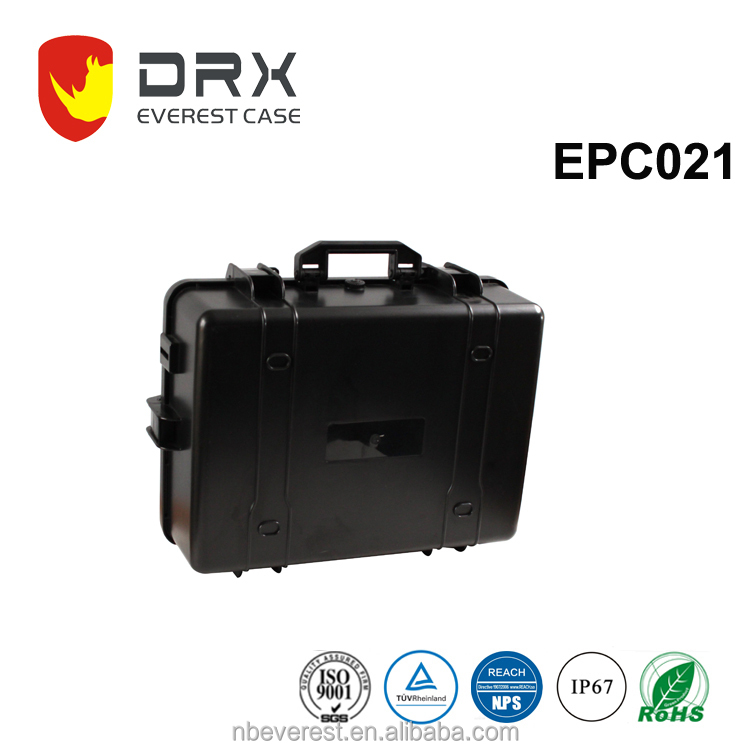 Ningbo everest EPC021 IP67 waterproof equipment hard plastic injection mould case for electronic device