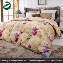 New Product Beautiful Design Thick Winter Home Textile Printed Quilt